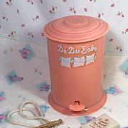 RARE * Vintage Effanbee Dy-Dee Diaper Pail