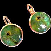 Leverback Fairy Pierced Earrings