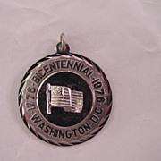 SS Washington DC  1976 Bicentennial Charm Pendant