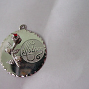 SS Mother Charm Pendant