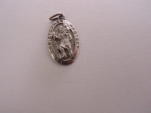 SS ST. Christopher Protect Us Charm