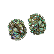 Aurora Borealis Rhinestone Crystal Earrings II