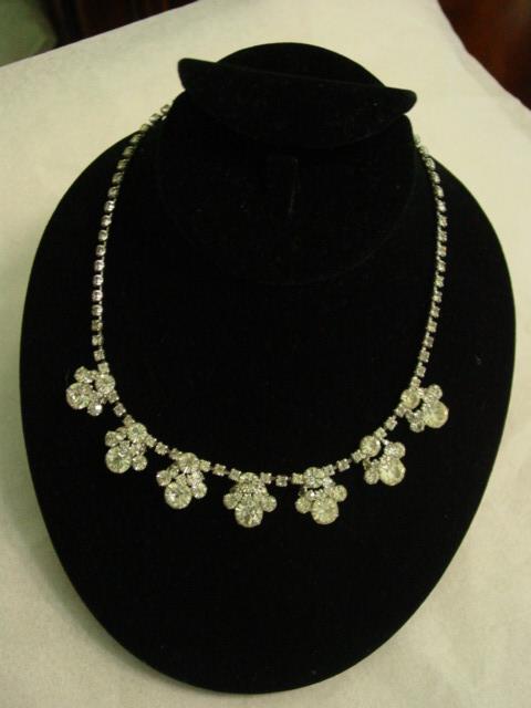 Lovely Elegant Layered Rhinestone Necklace