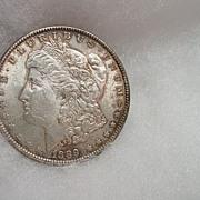 1889  Philadelphia Mint Silver Dollar Coin