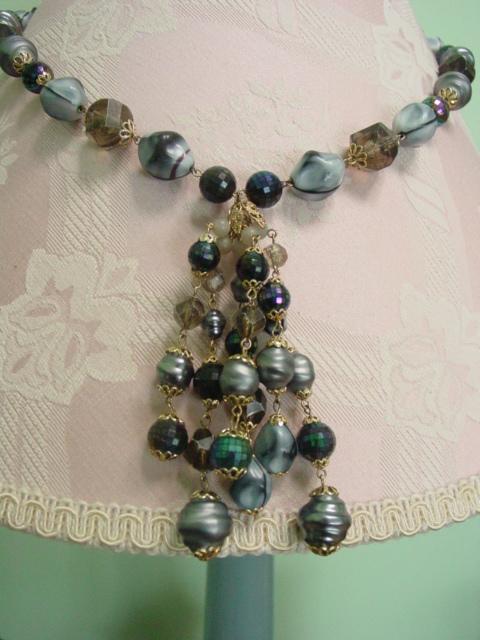 214 Multi Bead Necklace