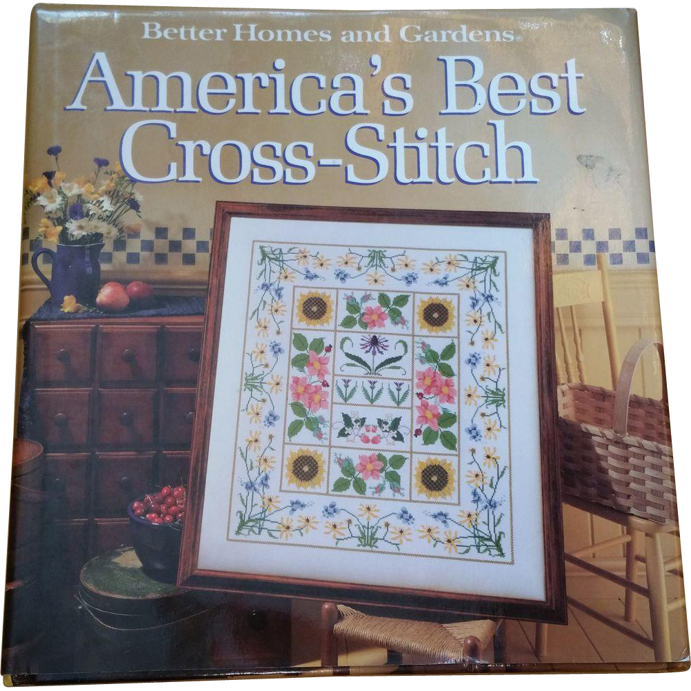 Better homes and gardens america 39 s best cross stitch from for Americas best home builders