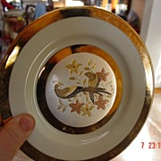Limited Edition Chokin Yoshinobu Hara Plate