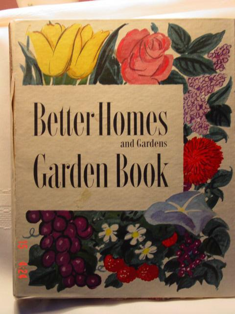 First Edition Better Homes and Gardens Garden Book