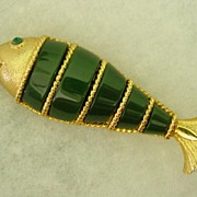 Large Bendable  Fish Pendant