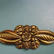 Lovely Huge Art Deco Pin Brooch