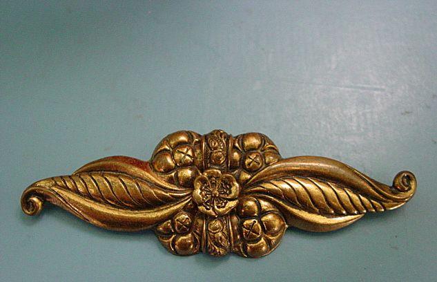Lovely Huge Art Deco Pin Brooch