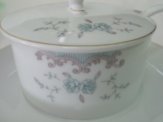 Imperial China Seville Mayonnaise w Underplate & Spoon