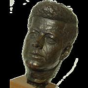 President John F. Kennedy Head Bust Sculpture