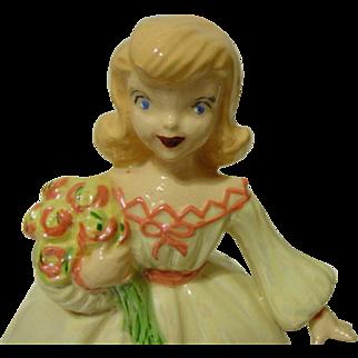 Janet Leigh Meg Little Women Porcelain Doll Figurine