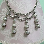 Park Lane Big Dangle Festoon Style Necklace