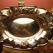 Forbes Silver Co. Quadruple Plated Silver Plate Bowl Centerpiece