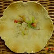 2  Silesia Floral Bread Dessert Plates