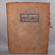 1907 Roycrofters Book Little Journeys by Elbert Hubbard