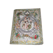SALE! Elaborate Rare Large Victorian Valentine Card!