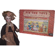 "CHARMING HTF Vintage Circa 1950 ""Fix the Toys Book"" By Dorothy King!"