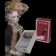 Factory Original Antique Burson Doll Socks Fashion Doll Stockings in Original Box!