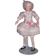SWEET OOAK Vintage Artist Made Shirley Temple Dollhouse Doll