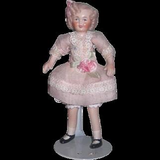 SWEET OOAK Vintage Artist Made Shirley Temple Dollhouse Doll