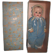 """AMAZING and RARE Mint-in-Box Vintage R & B """"Rock-Me-Baby"""" 1950's Baby Doll~ONE OWNER!"""