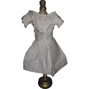 FANCY Antique French Soutache Doll Dress for JUMEAU or BRU BEBE!