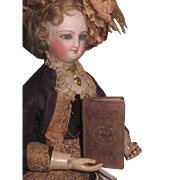 "CHARMING Tiny Hard to Find Antique Miniature ""Dew Drops"" Book for FASHION DOLLS!"