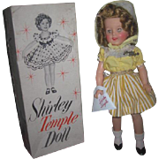 """EXCEPTIONAL 12"""" MIB 1958 Vinyl Shirley Temple Doll in Rare Beach Outfit!"""