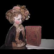 "TINY Rare Antique ""Child's Life of Washington"" Miniature Book for FASHION DOLLS!"