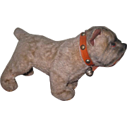 REALISTIC Vintage Steiff-Like Miniature Toy Mohair Boxer Dog for DOLL COMPANION!