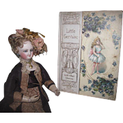 "EXQUISITE Antique Miniature ""Little Gervaise and Other Stories"" Ilustrated Children's Book!"