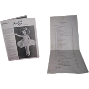RARE Vintage Original Richwood Toys Company Sandra Sue Doll Catalog & Price List!
