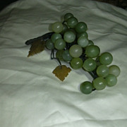 Large Jade Grapes Cluster