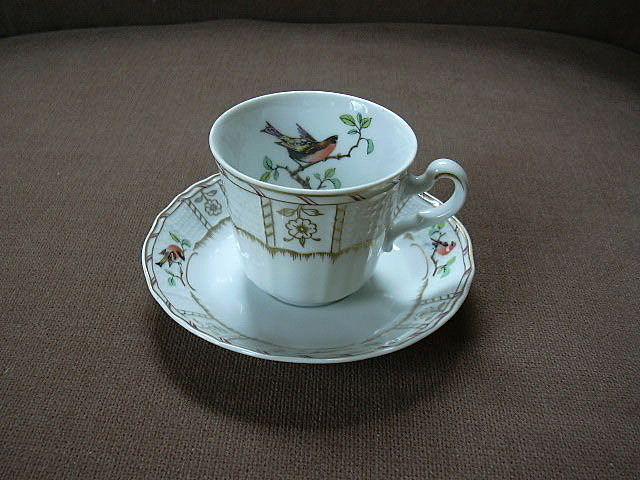 Heinrich Germany Demitasse Cup & Saucer Songbirds