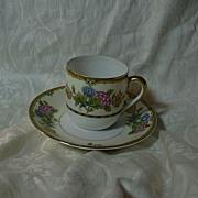 Noritake Elysian Demitasse Cup & Saucer Set