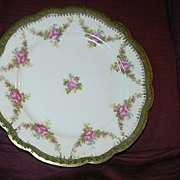 Set 4 Austria Porcelain Dessert Tea Plates Moritz Zdekauer