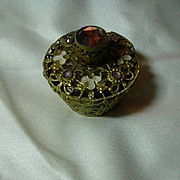 Jeweled Small Perfume Bottle