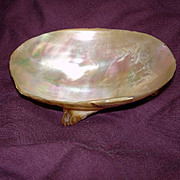 MOP Mother Of Pearl Shell Bowl 1800's