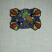 Old Beadwork Beaded Dress Trim