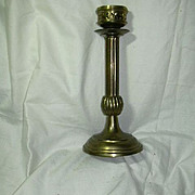 Heavy Brass Candle Stick