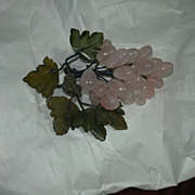Rose Quartz Grapes