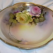 Artist Signed Hand Painted Bowl Noritake Japan T Howzan Fine Porcelain & China