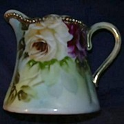 Hand Painted Nagoya  Nippon Creamer  Fine Dining Cream Pitcher Porcelain & China