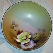 Hand Painted Meito Japan Bowl Fine Dining China Art Peonies Peony Flowers