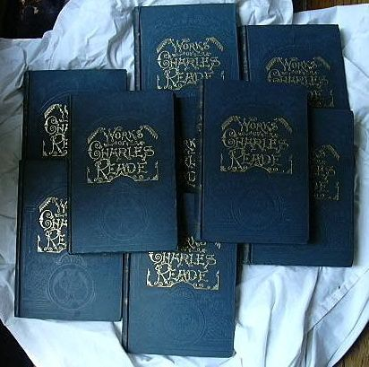 The Works Of Charles Reade 9 Vol Set Circa 1900
