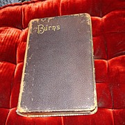 The Complete Works Of Robert Burns 1887 Leather Bound