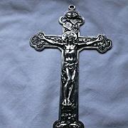 Rare Old Gorham Silver Crucifix